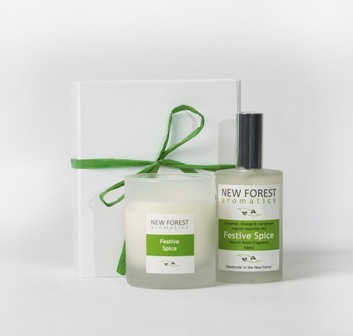 home fragrance gift box - forest essence