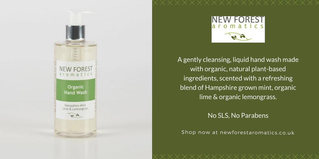 Organic Hand Wash – Hampshire Mint, Lime & Lemongrass