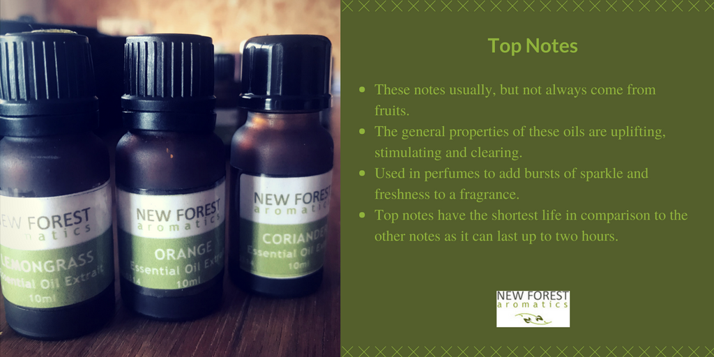 Top Notes in perfume