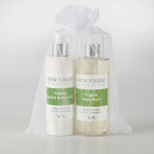 organic hand wash hand body lotion gift set