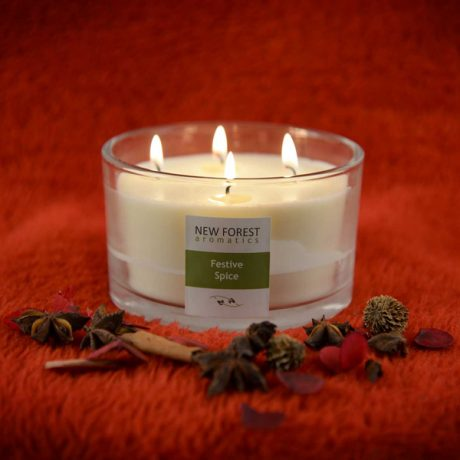 Festive Spice extra large candle